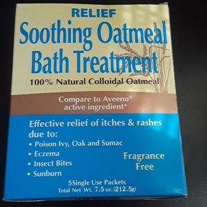 Other - Relief Soothing Oatmeal Bath Treatment